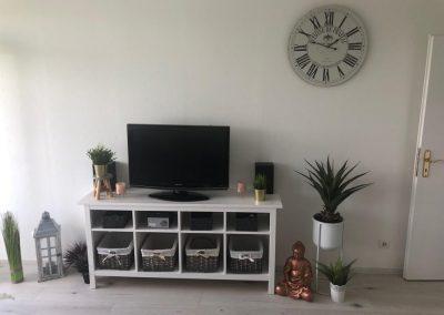 Wohnzimmer Flachbild TV